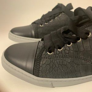 LANVIN Embossed leather Sneakers low top comfy!
